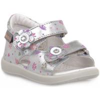 Schoenen Jongens Sandalen / Open schoenen Naturino FALCOTTO 0Q04 BENSEVAL SILVER Grigio