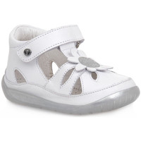 Schoenen Jongens Sandalen / Open schoenen Naturino FALCOTTO 1N02 ORINDA WHITE Bianco