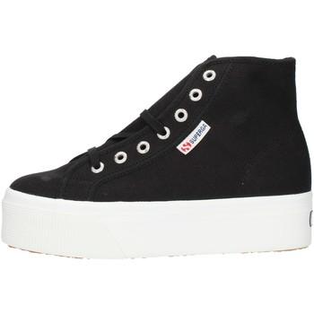 Schoenen Dames Hoge sneakers Superga 2705HITTOP Black