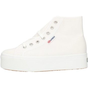 Schoenen Dames Hoge sneakers Superga 2705HITTOP White