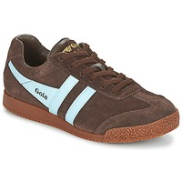 Schoenen Lage sneakers Gola HARRIER Bruin / Blauw
