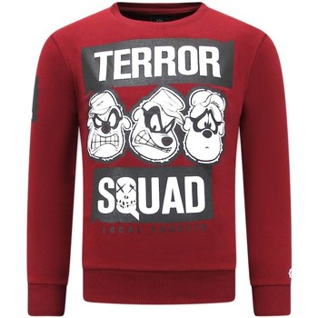 Textiel Heren Sweaters / Sweatshirts Local Fanatic Print Terror Beagle Boys Bordeaux