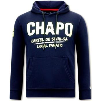 Textiel Heren Sweaters / Sweatshirts Local Fanatic Hoodie Print El Chapo Blauw