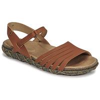 Schoenen Dames Sandalen / Open schoenen El Naturalista SOFT Bruin
