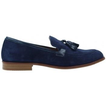 Schoenen Dames Derby & Klassiek Luis Gonzalo Zapatos Mocasines para Mujer de  5133M Blauw