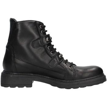 Schoenen Dames Enkellaarzen Unica 10191 BLACK