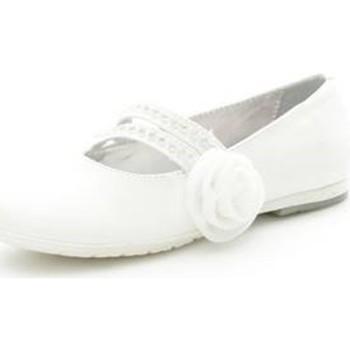 Schoenen Meisjes Ballerina's Asso 39049 WHITE
