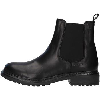 Schoenen Dames Enkellaarzen Unica 10115 BLACK