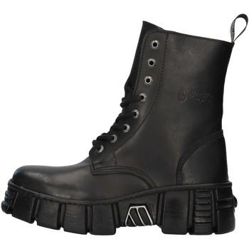 Schoenen Laarzen New Rock WALL026NBASA BLACK