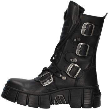 Schoenen Laarzen New Rock WALL028N BLACK