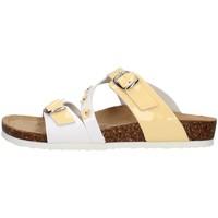 Schoenen Meisjes Leren slippers Primigi 3427122 WHITE