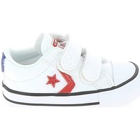 Schoenen Kinderen Lage sneakers Converse Star Player 2V BB Blanc Rouge Wit