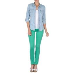 Textiel Dames 5 zakken broeken Cimarron CASSIS Groen