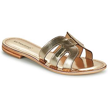 Schoenen Dames Leren slippers Les Tropéziennes par M Belarbi DAMIA Goud