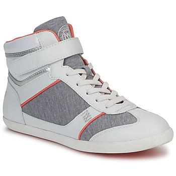 Schoenen Dames Hoge sneakers Dorotennis MONTANTE VELCRO Grijs