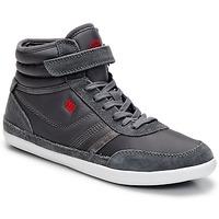 Schoenen Dames Hoge sneakers Dorotennis MONTANTE STREET VELCROS Grijs