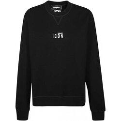 Textiel Heren Sweaters / Sweatshirts Dsquared S80GU0011 Zwart