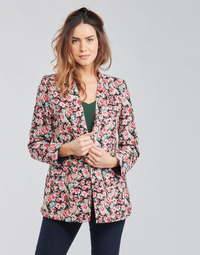 Textiel Dames Jasjes / Blazers Betty London OBIMBA Zwart / Roze