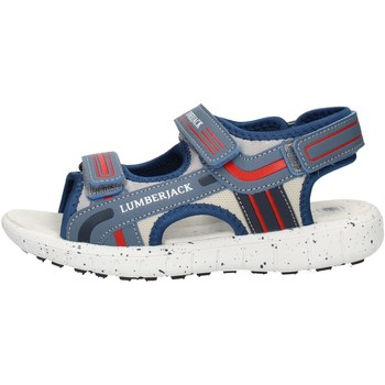 Schoenen Jongens Sandalen / Open schoenen Lumberjack SB28206010M17 Light blue