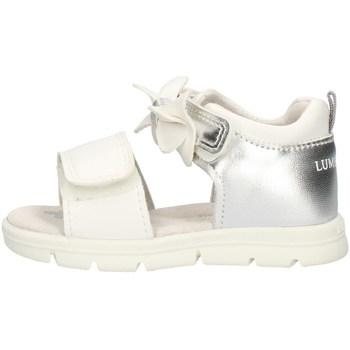 Schoenen Meisjes Sandalen / Open schoenen Lumberjack SG78406004U09 White and silver