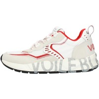 Schoenen Heren Lage sneakers Voile Blanche 001201592601 White and red