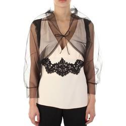 Textiel Dames Mouwloze tops Anna Molinari 24222 Nero