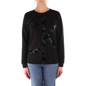 Textiel Dames Sweaters / Sweatshirts Calvin Klein Jeans K20K202905 BLACK