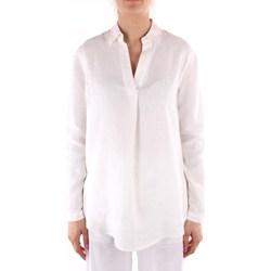 Textiel Dames Overhemden Calvin Klein Jeans K20K202747 WHITE