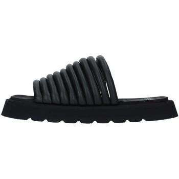 Schoenen Dames Leren slippers Bruno Bordese BOSRIN BLACK