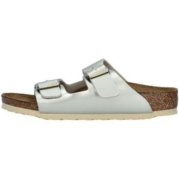 Schoenen Meisjes Leren slippers Birkenstock 1014841 GOLD