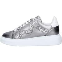 Schoenen Dames Lage sneakers Manila Grace W0DS016LW GREY