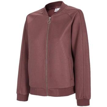 Textiel Dames Trainings jassen 4F Women's Sweatshirt Bordeaux