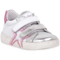 Schoenen Meisjes Lage sneakers Grunland ARGENTO 88NOON Grigio