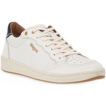 Schoenen Heren Lage sneakers Blauer WHI MURRAY Bianco