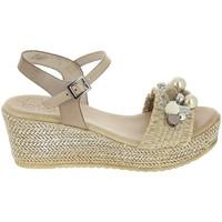Schoenen Dames Sandalen / Open schoenen Porronet Sandale F12646 Taupe Grijs
