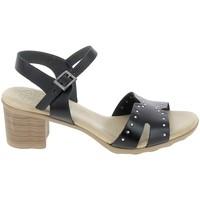 Schoenen Dames Sandalen / Open schoenen Porronet Sandale F12626 Noir Zwart