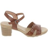 Schoenen Dames Sandalen / Open schoenen Porronet Sandale F12626 Marron Bruin