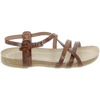 Schoenen Dames Sandalen / Open schoenen Porronet Sandale F12615 Marron Bruin