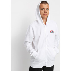 Textiel Heren Sweaters / Sweatshirts Element Medwell Zip Hooded Optic White