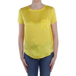Textiel Dames Tops / Blousjes Manila Grace C335SU Yellow