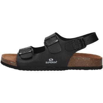 Schoenen Heren Sandalen / Open schoenen Superga S11G046 BLACK