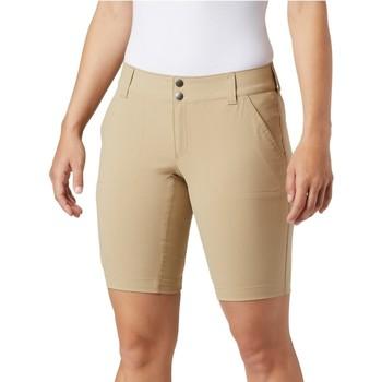 Textiel Dames Korte broeken / Bermuda's Columbia Saturday Trail Long Short Beige