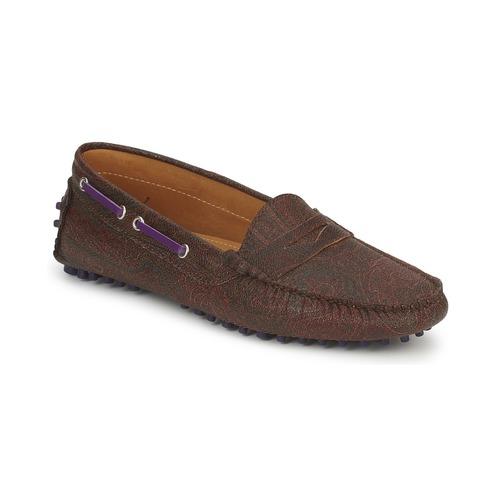 Schoenen Dames Mocassins Etro MOCASSIN 3706 Violet