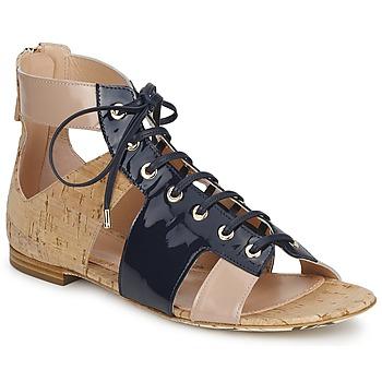 Schoenen Dames Sandalen / Open schoenen John Galliano AN6379 Blauw / Beige / Roze
