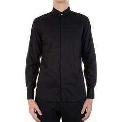 Textiel Heren Overhemden lange mouwen Manuel Ritz 3030E652-213229 Nero