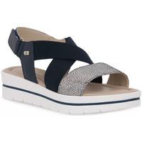 Schoenen Dames Sandalen / Open schoenen Valleverde BLU SANDALO Blu