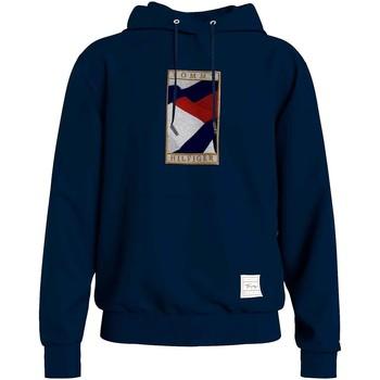 Textiel Heren Sweaters / Sweatshirts Tommy Hilfiger MW0MW17393 Blauw
