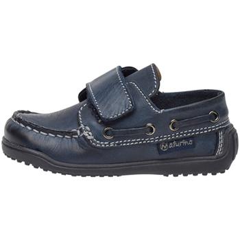 Schoenen Kinderen Derby Naturino 2013091 01 Blauw
