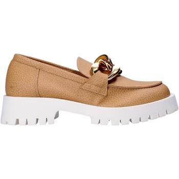 Schoenen Dames Mocassins Grace Shoes 631018 Beige