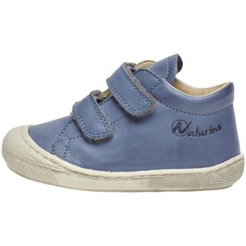 Schoenen Kinderen Hoge sneakers Naturino 2012904 16 Blauw